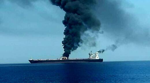 واکنش کشورهای عربی به انفجار نفتکش در بندر جده