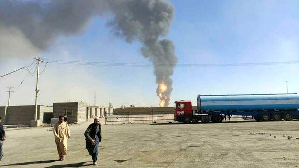 آتشنشانان مشهدی به مرز ایران و افغانستان اعزام شدند