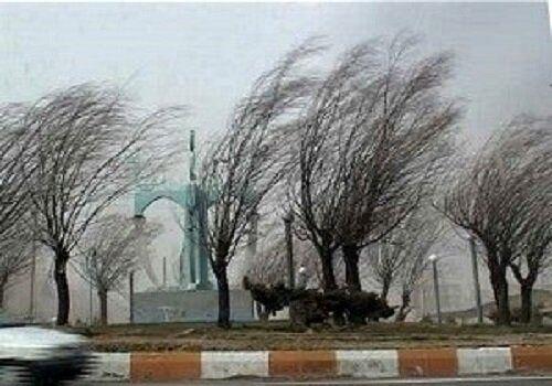 هشدار هواشناسی نسبت به احتمال وقوع طوفان در ۱۱ استان