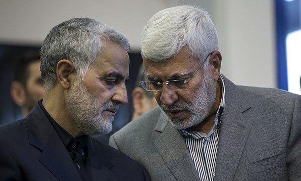 برگزاری مراسم بزرگداشت سردار سلیمانی و ابومهدی در عراق