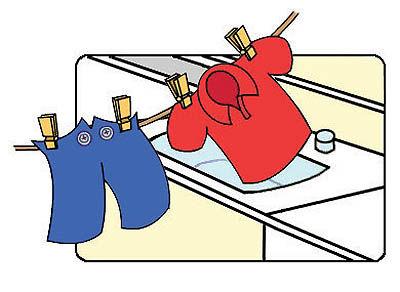 چگونه لباسها در برابر شستوشو دوام میآورند؟