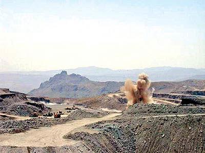 استخراج از معدن انگوران به 776 هزار تن رسید