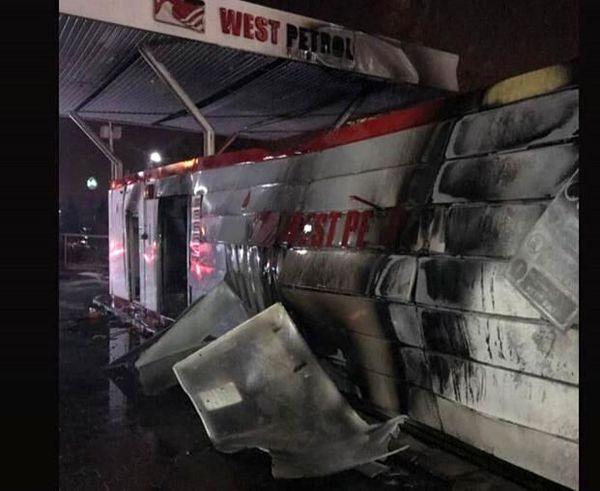 علت انفجار پمپ بنزین تهران مشخص شد