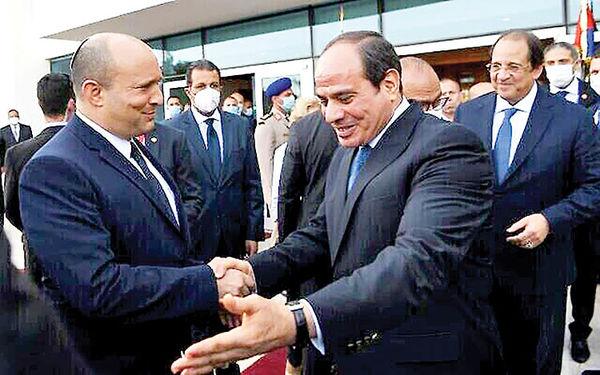 دیدار بنت با سیسی در قاهره