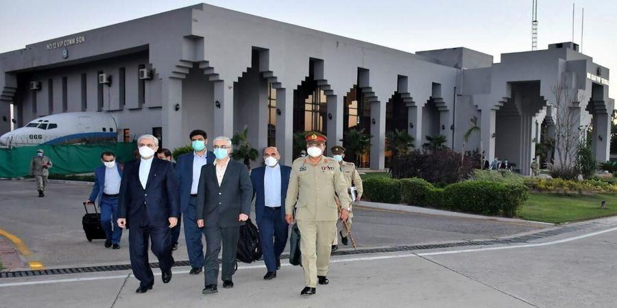 ورود هیات بلندپایه نظامی ایران به کراچی