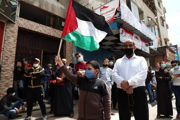تظاهرات ساکنان غزه در اعتراض به تجاوزات رژیم صهیونیستی