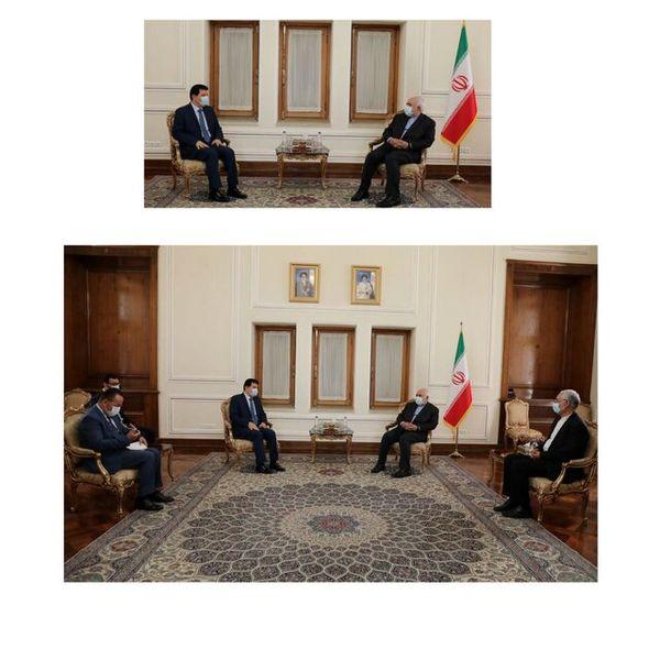 دیدار سفیر سوریه با ظریف