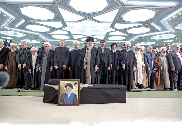تشییع پیکر رئیس فقید مجمع تشخیص مصلحت نظام