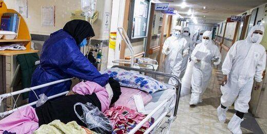 وضعیت وحشتناک کمبود تخت بیمارستانی برای بیماران کرونایی در تهران