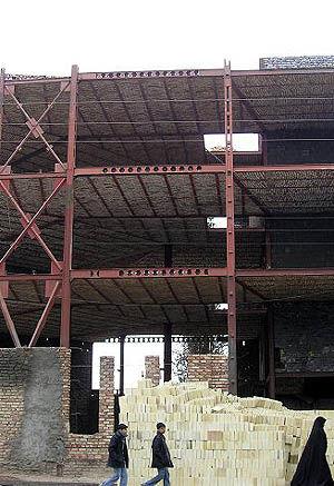 برای اولین بار در ایران ملات آماده ساختمانی تولید شد