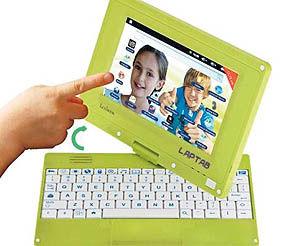 یک لپتاپ- تبلت هیبریدی برای کودکان