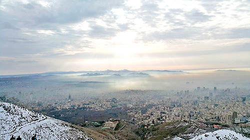 تخمین آلودگی امروز تهران