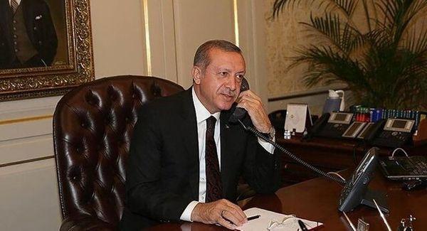 گفتگوی تلفنی اردوغان با رهبران آلمان و ایتالیا