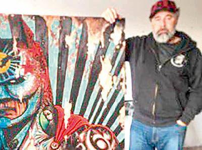 سرقت نقاشی 2500 پوندی «بتمن»