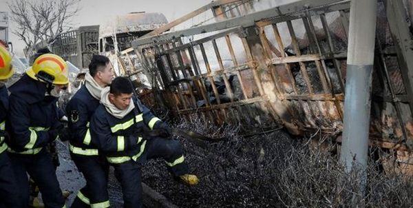 یک انفجار خطرناک در مرکز چین رخ داد