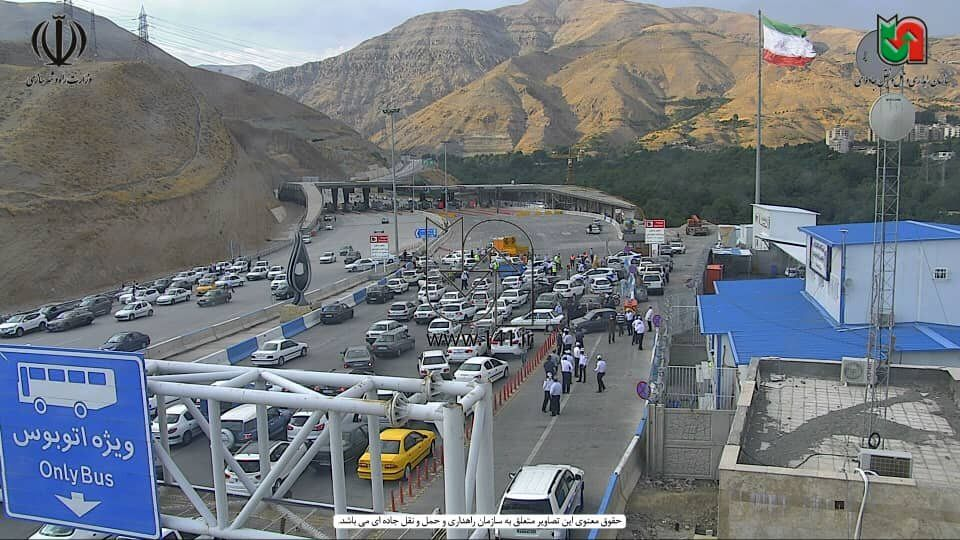 عکس | فاجعه بیخ گوش پایتخت؛ آزادراه تهران-شمال مسدود شد