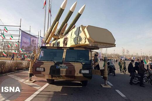 موشک های بالستیک سپاه پاسداران در میدان آزادی + عکس