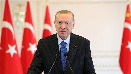 اردوغان: ترکیه ادعای مالکیت قلمرو هیچ منطقهای را ندارد