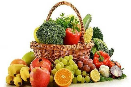 انواع میوه و سبزی در بازار چند؟