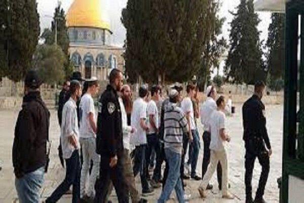 درگیری میان فلسطینیان و صهیونیستها در مسجدالاقصی
