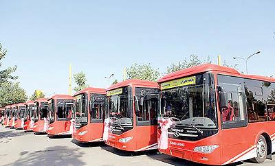 نیاز فوری تهران به 5000 اتوبوس