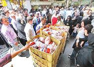 مردم به میزان نیاز مرغ خریداری کنند