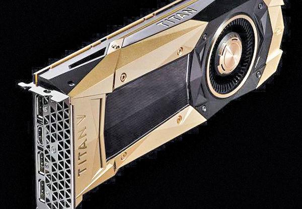 پردازنده گرافیکی «تایتان وی» شرکت انویدیا