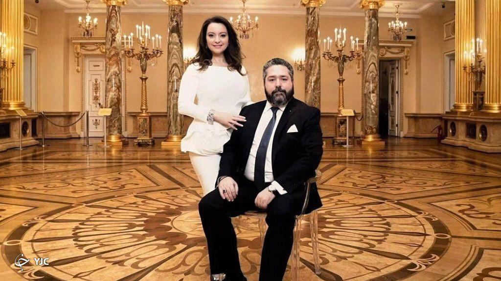 جورج میخائیلوویچ و همسرش