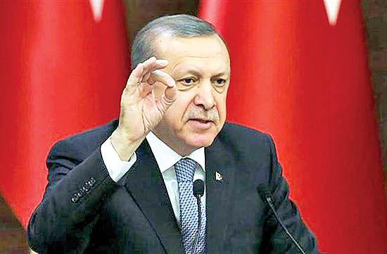 اردوغان در خط پایان
