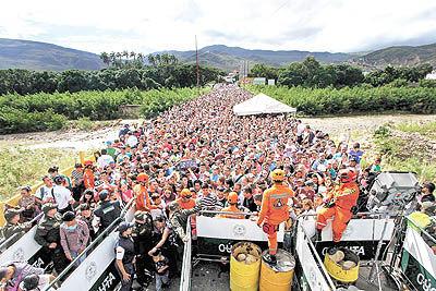 بازگشایی مرز نجات برای گرسنگان ونزوئلا