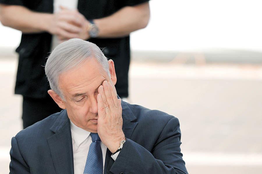 مرگ سیـاسی نتانیاهو؟