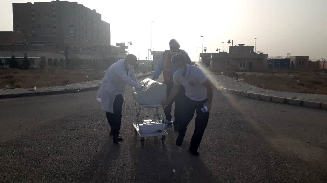 جزییات عملیات نجات نوزاد ۸۰۰ گرمی با اورژانس هوایی