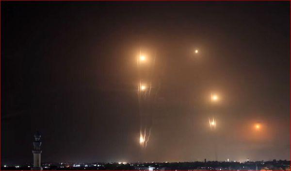 آتشسوزی در سکوی گازی اسرائیل در ساحل حیفا