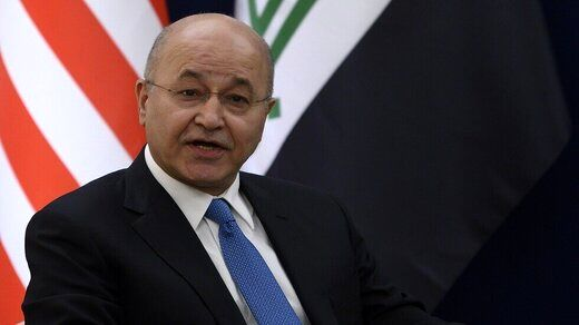 برهم صالح انفجار بغداد را تروریستی خواند