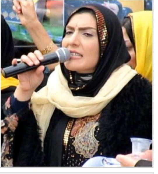 عکس | اولین زن نماینده مجلس کردستان بعد از انقلاب