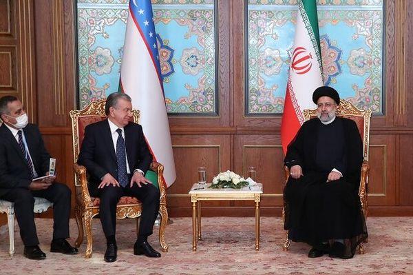 رئیسی در دیدار با رییس جمهور ازبکستان: تحریم ها مانع پیشرفت ایران نشدند