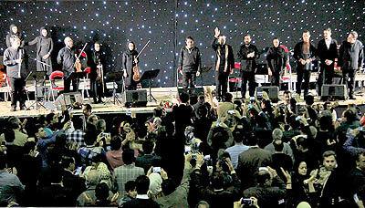 استقبال خرمآبادیها از کنسرت همایون شجریان