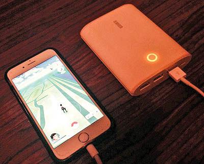 فروش دوبرابری باتری موبایل پس از ورود پوکیمون