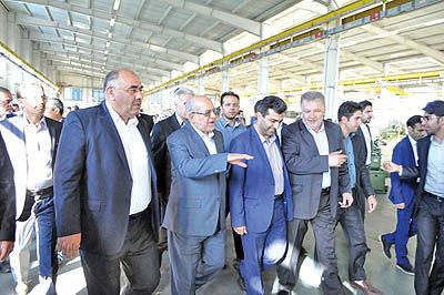 افتتاح چند طرح صنعتی در آذربایجان غربی