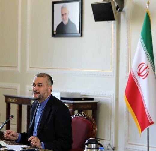 نشست اعضای مرکز مقاومت بسیج وزارت خارجه با امیرعبداللهیان+عکس