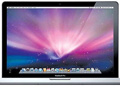مک بوک پروی با قابلیت اپل