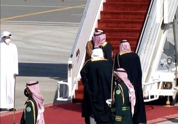 امیر قطر وارد عربستان شد
