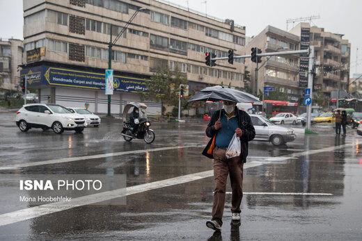 هشدار بارش برف و باران در بیش از ۲۰ استان کشور