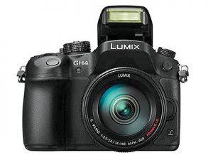 اولین دوربین بدون آینه با امکان فیلمبرداری 4K