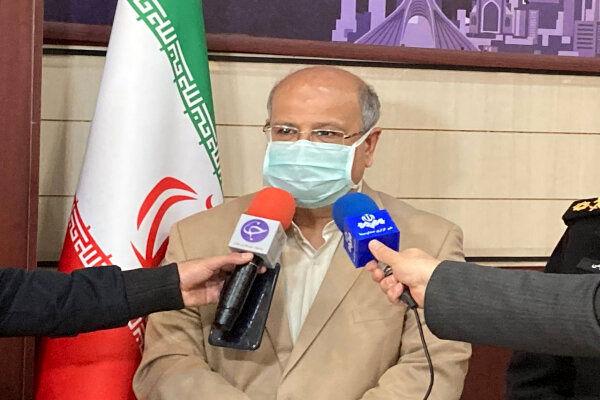 زالی:روند نزولی کرونا در تهران شکننده است