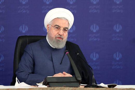 روحانی: در برابر تمام ارکان «نظام سربلند سلامت ایران» سر فرود می آورم