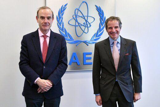 برجام ؛ محور گفتگوی گروسی با نماینده اروپا
