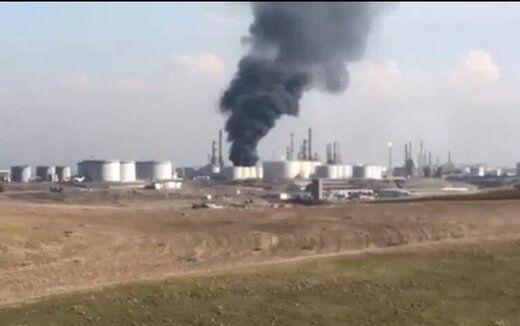 آتشسوزی در پالایشگاه اربیل 3 کشته برجای گذاشت