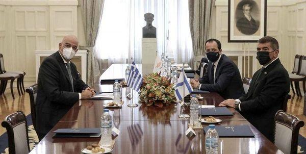 ادعای تازه تل آویو درباره تشکیل ائتلاف با یونان و قبرس