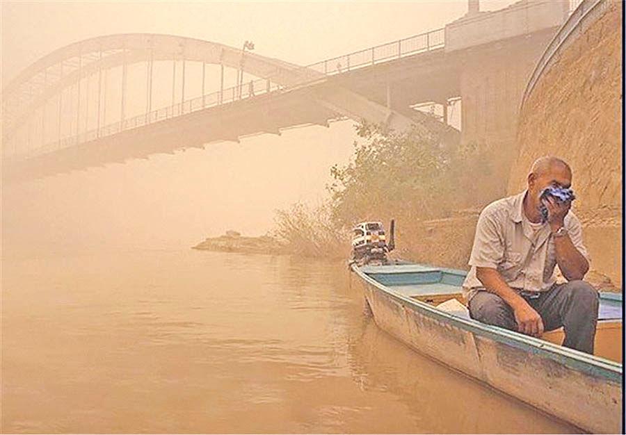 مقابله آبی با ریزگردها